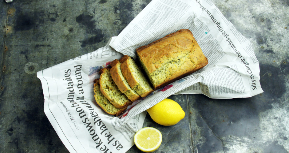 Lemon & Poppyseed Loaf